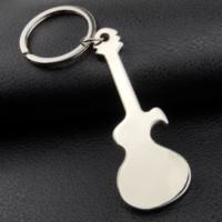 Musikinstrumente Guita Flaschenöffner Schlüsselanhänger Einfache Metall Sommer Bieröffner Keychain Bar Hand Werkzeug Mode Will und Sandy