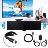 Antenne de télévision HD intérieure numérique à 80 milles avec amplificateur de signal TVS Radius surf Fox Antennes Freeview Antena DVB-T2