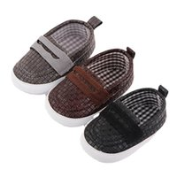 Baby Shoes First Walkers Newborn Shoe Boys Infant Footwear Moccasins Soft Toddler Wear Casual Spring Autumn Hand Knitting 0-1T B8734