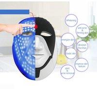 7 색 PDT LED 라이트 테라피 드롭 배송 LED 미용 기계 가정 사용 LED 피부 젊 어 짐 마스크 목 스킨 케어 판매