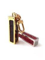 DICE Porte-clés détachables Lettre de haute qualité Métal Madmade à la main Unisexe Clé Key Anneau Hommes Femmes Pendentif Modèle Car Keychain Accessoires avec boîte Ivy001