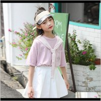 Sets Baby Clothing Baby, Kids & Maternity Drop Delivery 2021 Online Store Summer Fashion Academy Style Short Skirt Two Piece Korean Girls Sui