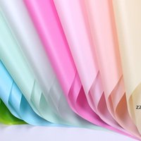 Flower Wrapping Paper Solid Color Waterproof Paper Bouquet Gift Packing Paper Environmentally Friendly Matte Solid Color HWB10508