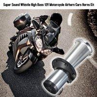 Другое Автоэлектроника 12V Автомобильный автомобиль Мотоцикл Воздушный комплект Труба Автомобиль Одиночная труба Супер Звук Свисток Высокие Бас Аксессуары