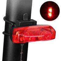 Acessórios Teillight da bicicleta acessórios à prova d'água Luz traseira de montagem LED USB Chargeable Farol de montanha Ciclismo luzes da lâmpada da cauda