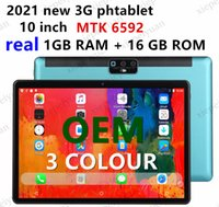 OEM 10.1 Inch Tablets Android 7.0 3G Phone Call 4GB RAM 64GB ROM Quad Core WiFi Bluetooth GPS Dual SIM Tablet PC
