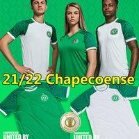2021 2022 Chapecoense Futbol Formaları 21/22 Son Ev Yeşil Uzakta Beyaz Fabinho Ravanelli Geuvânio Bruno Silva Tiepo Camisas De Futebol Futbol Gömlek Maillots