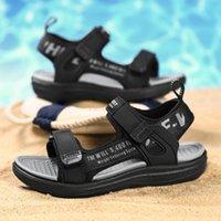 Sandals 2021 Black Red Children's Shoes For Children Spring Summer Boys Girls Soft Soles Kids Designer