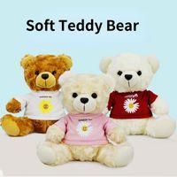 Soft Stuffed Animal Teddy Bear Doll Plush Toys Christmas Gift for Kids