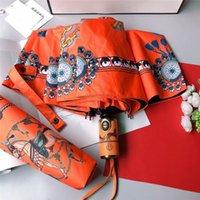 Top Mode Designer Parapluie Haute Qualité entièrement automatique Pluie de luxe Pluie de luxe avec boîte