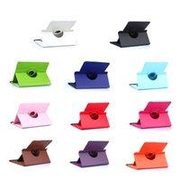 Rotation universelle à 360 degrés Tablette de couverture de table en cuir PU pour 7 8 9 10 pouces Protection 11 couleurs