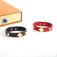 Мода шарма браслет темперамент дизайнер браслеты для мужчин женщин высококачественные 2 цвета