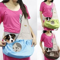 Dog Car Seat Covers Fashion Pet Accessories Outdoor Cat Sling One Shoulder Bag Mesh Window Breathable Puppy Travel Carrier For Small