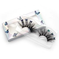 False Eyelashes Lashes With Butterflys On Them Faux Mink 14 16 18 25mm In Bulk Trending Butterfly Packaging Box For Makeup