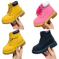 Kids boot Pokey Pine Lace Boots Youth Premium Toddler Waterproof Sneakers Infant Brooklyn Sneaker Timber Boy Girls land Shoes