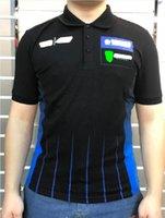 2021 Team Custom Logo Sommer GP Racing Poloshirt Motorrad Reiten kurzärmeliger Reiter Schnelltrocknung Atmungsaktive Team Uniform Lokomotive Revers Jacke