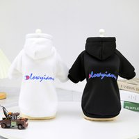 2021 NEW Pet Hoodie Puppy Clothes Dog Apparel Supplies Coat Two Legs Cotton Clothing Vest Jacket for Small Medium Dogs