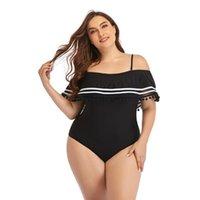 Damen Mesh Striped Hohe Taille Badeanzug Quaste Trim Top Halter Riemen Einteiliger Badeanzug Weibliche Bather Schwimmstrand Einteilige Anzüge.