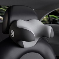 Seat Cushions Memory Foam Car Neck Pillow Headrest Rest Cervical Spine For Back Cushion Relieve Body Pressure Fits To