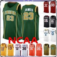 0 WESTAROOOOK 13 Harden 15 Leonard NCAA College League Basketball Jerseys 23 James 33 Bryant 30 Curry 35 Durant Ucla Hommes Jersey