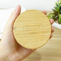 Carregador sem fio de bambu amigável ambiental de alta qualidade para iphone 13 fio universal da velocidade rápida do alto nível inferior