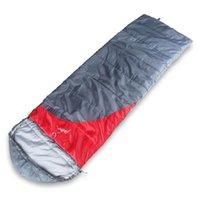 Sacs de couchage gykz costume pour 0 ~ 10 degrés à capuche chaude Camping randonnée Sports de plein air Sac d'épissure d'enveloppe adulte HY242