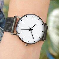 Wristwatches Men Luxury Watch 2021 Femme Stainless Steel Sports Fashion Wrist Watches Christmas Gift