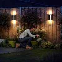 Modern Outdoor Wall Lamp Waterproof Led Garden Simple Terrace Balcony Corridor Aisle Outside Lamps