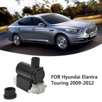 Motorcycle Windshield Universal Twin Outlet Washer Pump For Accent Entourage Santa Fe Car Glasses Windows Accessories