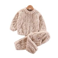 Pullover Autumn Winter Baby Girl Clothes Suit Children Fashion Warm Sweater Pants 2Pcs Sets Toddler Casual Boys Costume Kids Clothing