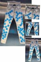 Lüks Tasarımcı Erkek Kot Moda Ince Bacak Kot Biker Mavi Pantolon Sıkıntılı Su Elmas Zebra Çizgili En Kaliteli SZ 29-40