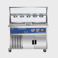 Ice Cream Making Machine Factory Price Good Quality Automatic Soft Serve Fried Roll For Sale