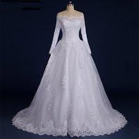 Other Wedding Dresses Quinceanera Princess Long Sleeve Luxury Brilliant Ball Gown Vestido De Noiva Modest Elegant Engagement Dress
