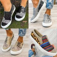 Scarpe casual 2021 New Flat Bottued Slip on Color Matching Grande Casual Single Lefu Canvas Lexc IEVQ