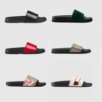 Donna / uomo sandali qualità elegante slipper moda classici classici uomini donne # 13; vitton \ r scarpe piatte slittamento UE: 35-45 con scatola shoe02 08