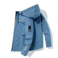 Men's Jackets Men Clothing Outdoor Camping Hiking Jacket 2021 Autumn Zipper Hoodie Windbreaker Adventure Suit