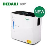 Dedakj DE-2SW 2L-9L الأكسجين المكثف الأدوات المنزلية الرعاية المنزلية آلة الأكسجين المحمولة 90٪ ارتفاع تركيز الأكسجين مولد البخاخات