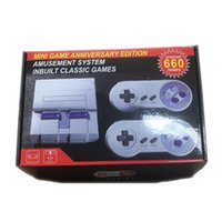 660 Wired Mini Game Anniversary Edition Inbuit Classic Games Arcade 4GB for US UK EU AU 4 adaptor Versions with Box