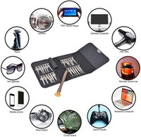 Craft Tools 25 In 1 Leather Case Torx Screwdriver Set Mobile Phone Repair Tool Kit Multitool Hand For Watch Tablet PC