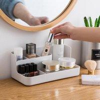 Storage Boxes & Bins Plastic Cosmetic Box Makeup Organizer Jewelry Nail Make Up Brush Drawer Container Desktop Sundries