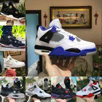 Air Jordan 4 retro jordans  Nike Verkauf 2021 Neue gezüchtete Black Black Cat 4 4s Basketballschuhe Männer Herren Herrenabscheider Zement Encore Wings Fire Red