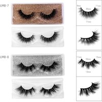 Soft Light Natural 3D Mink Fake Eyelashes Thick Multilayer Reusable Handmade False Lashes Extensions Eyes Makeup For Women Beauty Daily Use