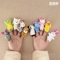 Poupées en peluche Bébé pour enfants Gant d'animaux