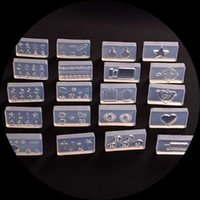 네일 아트 템플릿 3D 조각 실리콘 금형 템플릿 스탬퍼 할로윈 크리스마스 귀여운 동물 냉장고 유리 장식 데칼 스티커 30
