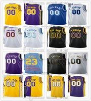 Jerseys de baloncesto impreso 0 Westbrook Carmelo Anthony Dwight Howard Kent Bazemore Wayne Ellington Trevor Ariza Kendrick Nunn Malik Monk 5 Horton-Tucker