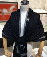 Hiver Elegant Écharpe Pashmina Cashmere Écharpes Design de poche pour Homme Femmes Châle Long Col 6 Couleur Top Qualité