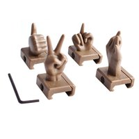 Set 4-teilige PVC-Sicht, Finger-Anblick, Mittelfinger-Anblick, Set von 4