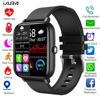 2021 Smart Watches Men Women Heart Rate Fitness Tracker Bracelet Watch Bluetooth Call Waterproof Sport Smartwatch For Android IOS