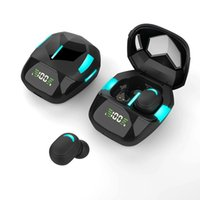 G7S TWS Wireless Bluetooth-compatible Headphones Sports Earbuds Earphone HIFI Games Headset With Charging Bin For Samsung LG Smart Phones