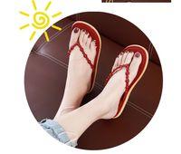 الدب فليب يتخبط المرأة الصيف النعال مسطح أسفل كليب القدم الأزياء داخلي والأعميد المنزل شاطئ الأحذية بالجملة